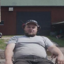 Traktorpulling-gänget i Tibro!