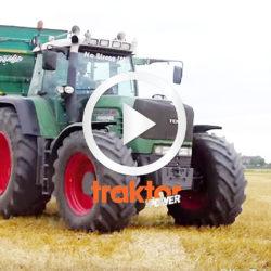 Kolla dekalen, lastbilshornen och Michelingubbarna på Fendt-traktorn!