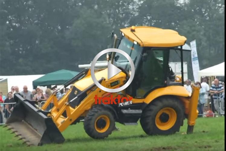 Här har du en JCB-traktorgrävare som kan dansa!