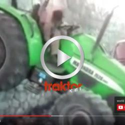 Så kan man ju också parkera traktorn!!!