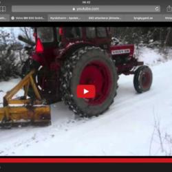 BM Volvo 600 med snöblad!