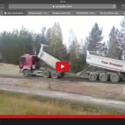 Så grusar du när du backar lastbilen!