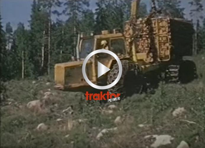 Här har du skogens pionjärer! Bamse, Ösa och Volvo BM!