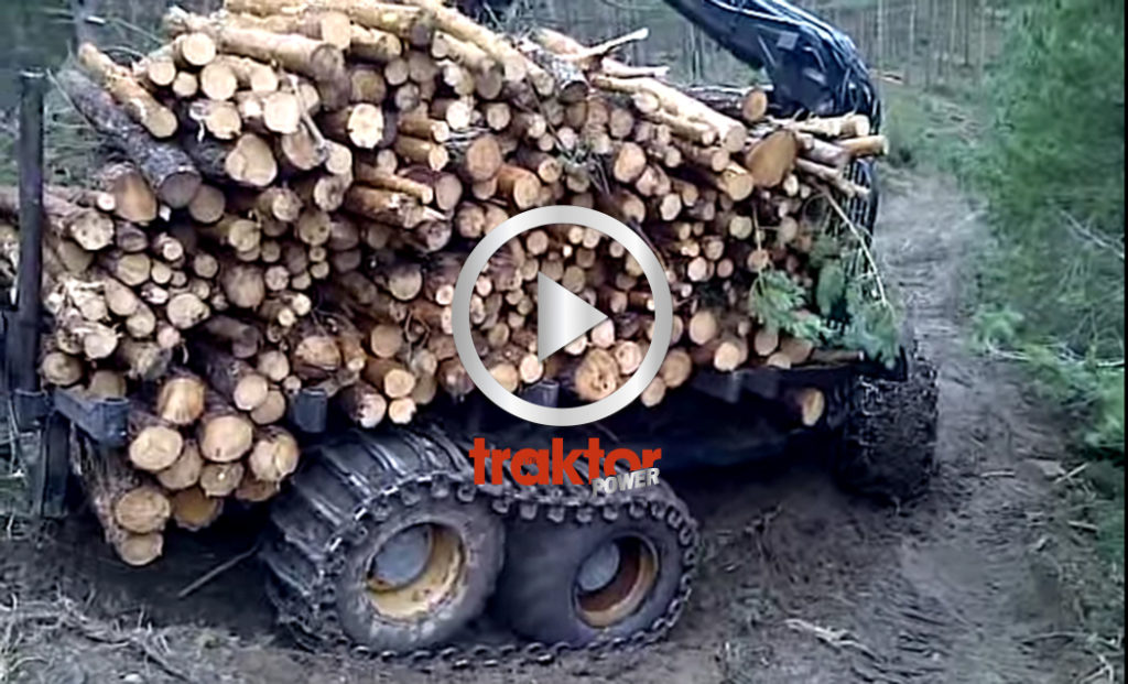 Ponsse Bufalo med big load!