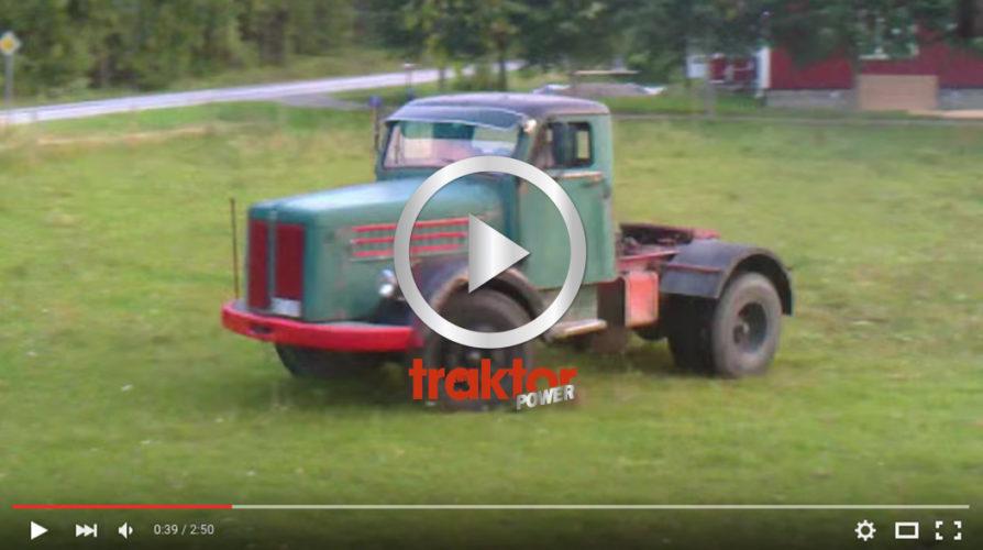 drifting me vår scania A-traktor