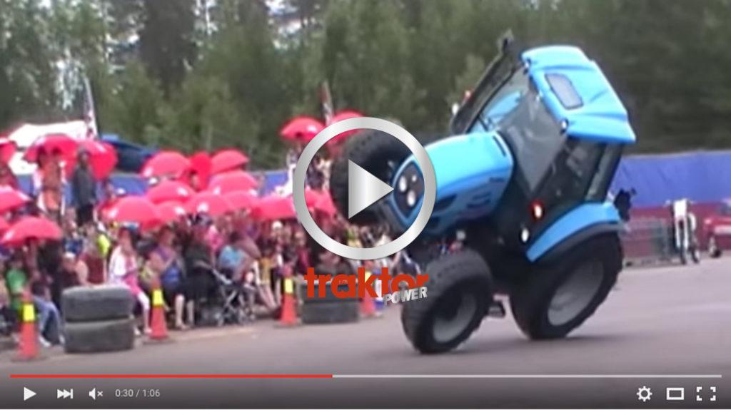 Snygg körning på två hjul!
