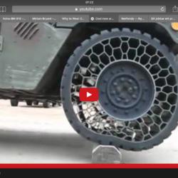 Så mjukt är det punkteringsfria däcket.