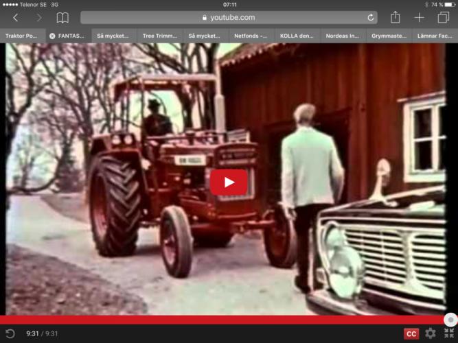 Detta är Volvo BMs reklamfilm från 1960-talet!