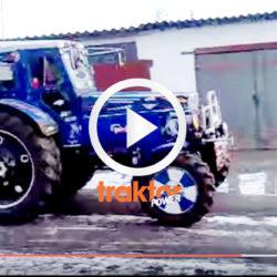 Superstylad traktor med extra allt!