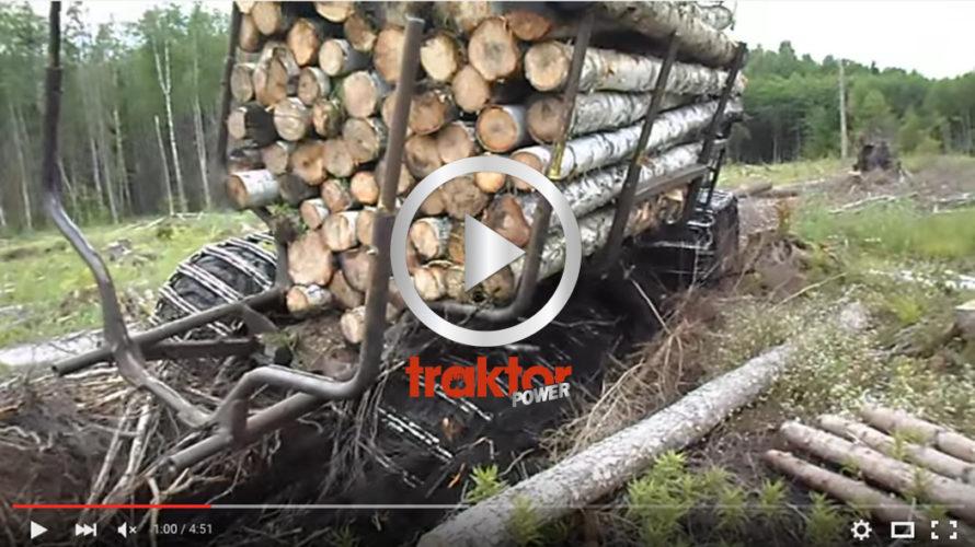 Så här kör du fast Timberjack 810D i surhålet!