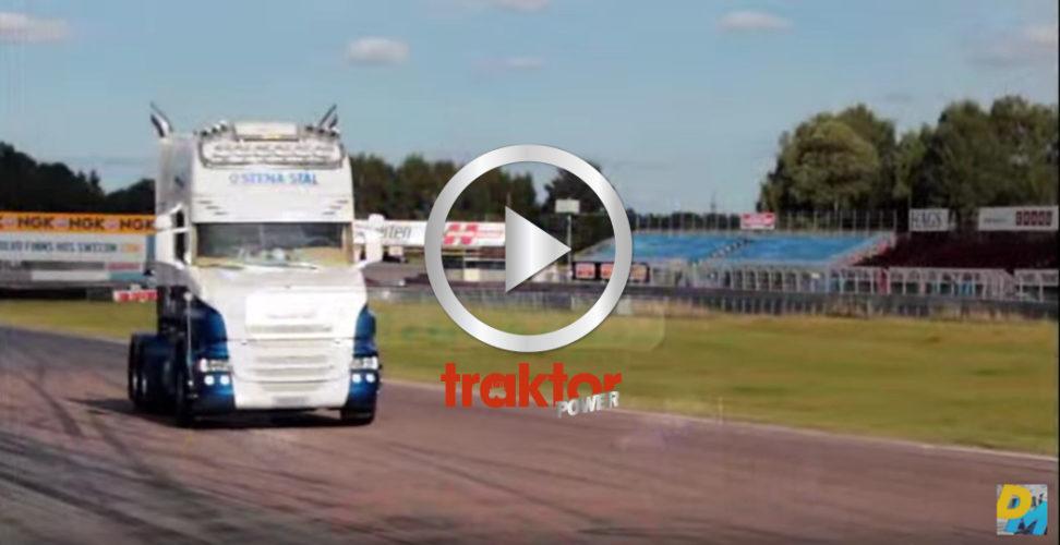 LYSSNA och njut av Scania-V8!