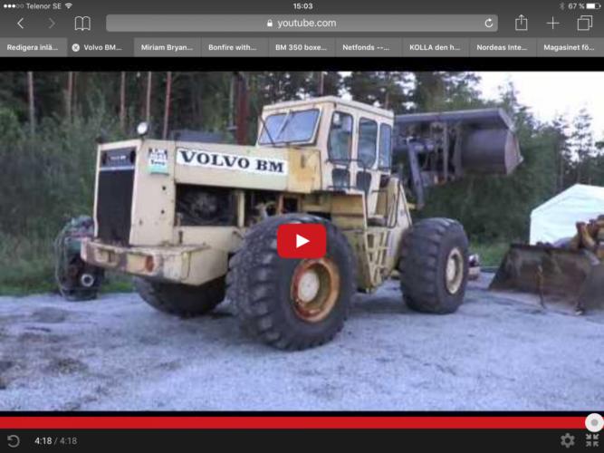 Här är Volvo BM LM1641!