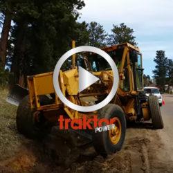 Så här kan du göra med en väghyvel!