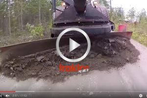 SÅ funkar hjullastaren som väghyvel!