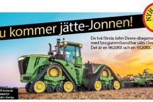 I juni levereras nya Jonnen!