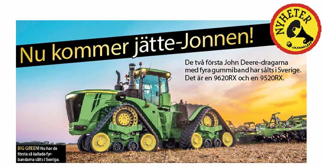 Joihn Deere 9XR
