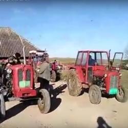 Ta med huset efter traktorn.