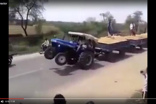 Galet traktortåg