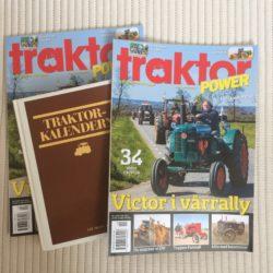 NYTT! Visst är det en Victor på Traktor Powers förstasida.