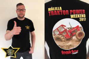 Klä dig rätt på Målilla Traktor Power Weekend