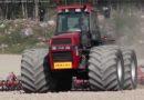Terra-däck på Case 4494!