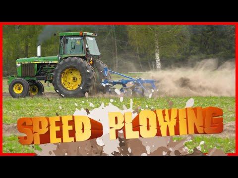 Hastighetsplöjning med John Deere