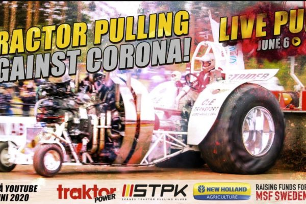 Livepull june 6 – Tractorpulling against corona