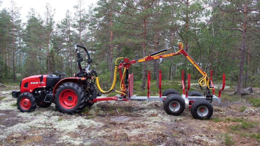 Kranman lanserar ny griplastarvagn